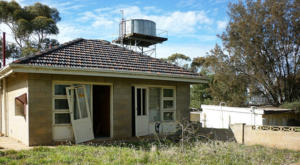 Maison abandonnée par le locataire