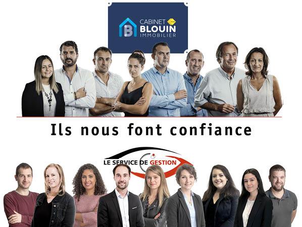 Blouin Immobilier, partenaire du SERVICE DE GESTION