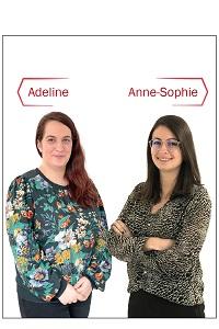 Adeline et Anne-Sophie